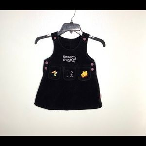 < Little Girls Winnie The Pooh Dress >